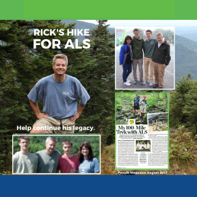 Rick Marks' Hike for ALS
